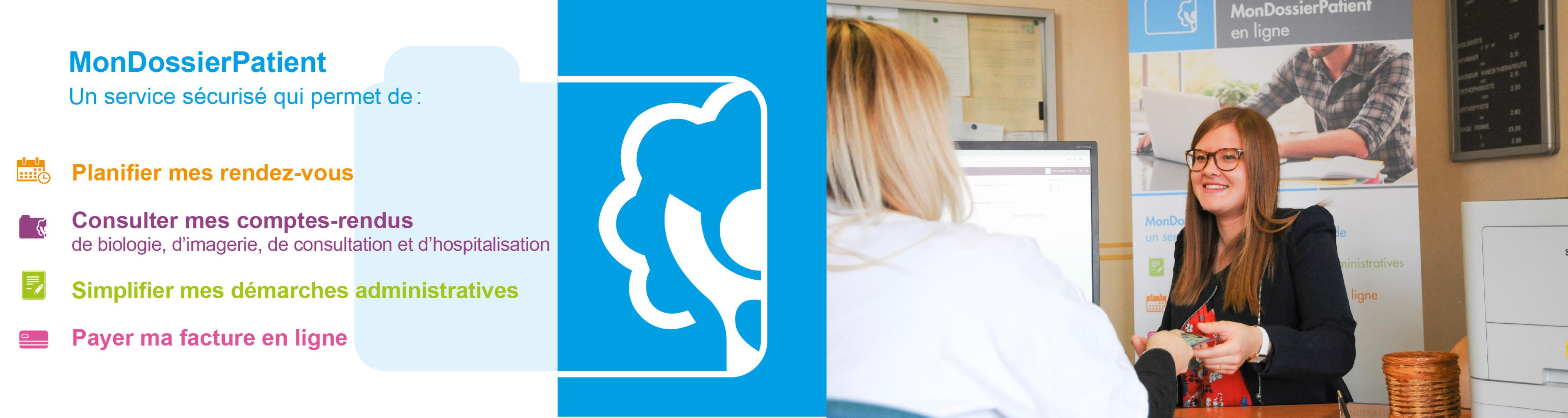 Mon Dossier Patient, un portail digital pour faciliter vos démarches au CHU