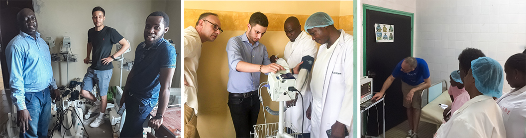Le CHU de Reims fait un don de plus de 80 équipements médicaux à Brazzaville