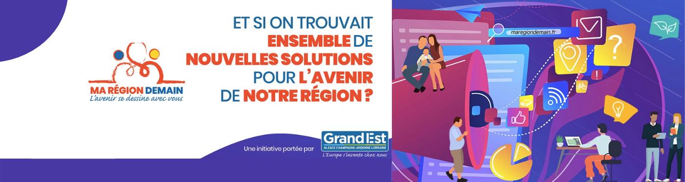 Consultation citoyenne « Ma Région Demain »