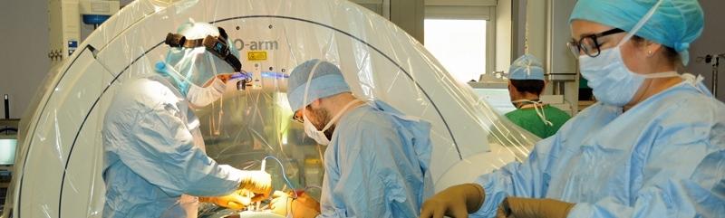 Le CHU se dote d'une nouvelle technologie de chirurgie rachidienne naviguée