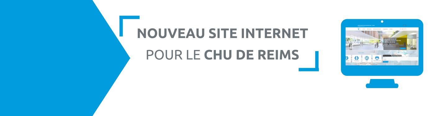 Un nouveau site internet pour le CHU