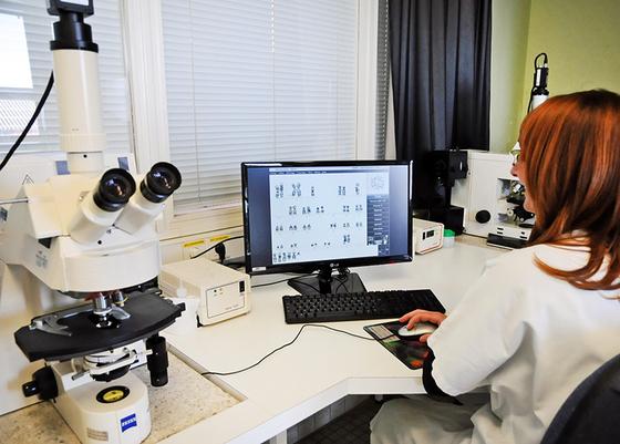 Laboratoire de génétique