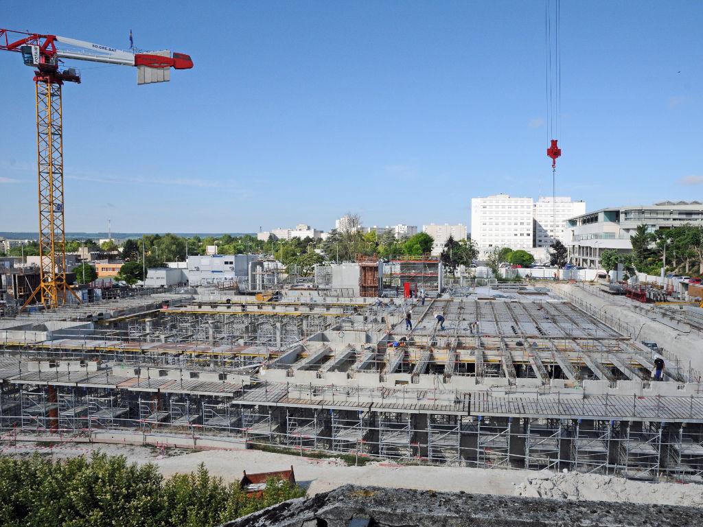 Construction du premier niveau 26 06 2017